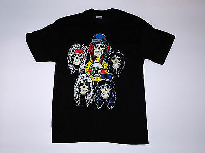 Vintage Original Guns n Roses Tour shirt 1989 Los Angeles L Deadstock NOS