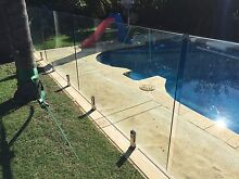 Glass pool fence. Wembley Cambridge Area Preview