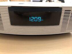 BOSE WAVE AM/FM RADIO/CD PLAYER ALARM CLOCK AWRC-1P