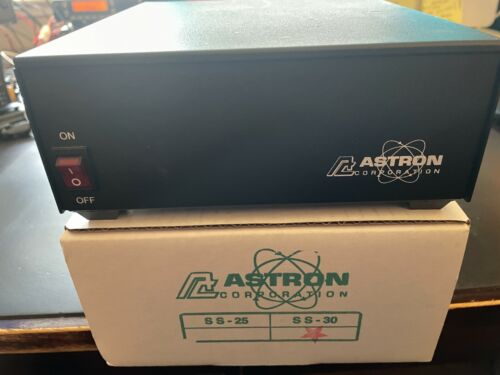 ASTRON SS-30 12.2-145.4 ADJUSTABLE 30 AMPS ICS DC SWITCHING POWER SUPPLY