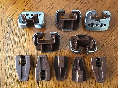 5 x Kenlin Rite-Trak I Drawer Guide Glide, Stop & Metal, with USPS track#