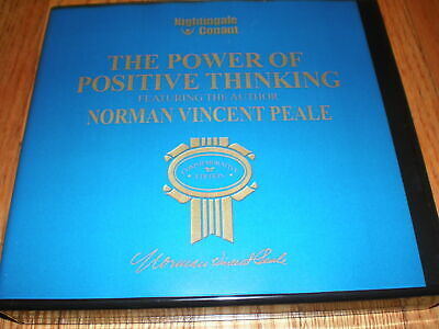 NORMAN VINCENT PEALE The Power Of Positive Thinking (7 CD Set ) UNABRIDGED