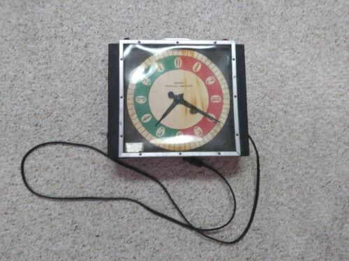 Micmar Wrestling Time Clock, Libertyville, IL, Synchron, vintage!