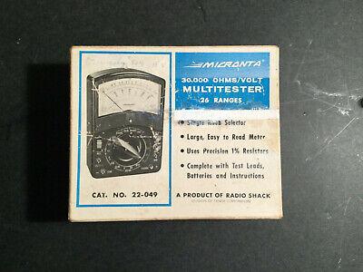 Micronta Multimeter 22-049