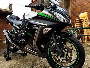 2015 NINJA 300 ABS SPECIAL EDITION Chester Hill Bankstown Area Preview