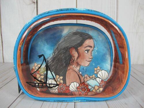 Loungefly Disney Moana Cosmetic Bag Set ~ NWT