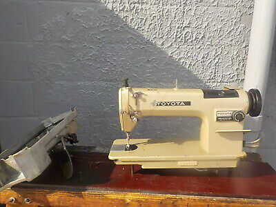 Industrial Sewing Machine Toyota Ad157-reverselight Leather