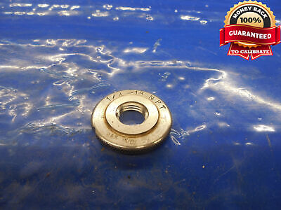 14 18 Npt L1 Pipe Thread Ring Gage .25 .250 .2500 N.p.t. L-1 Taper Inspection