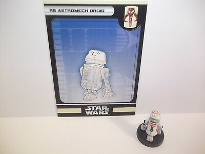 Star Wars Miniatures - R5 Astromech Droid 58/60 + Card - Champions of the Force