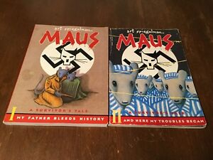 Maus 1 & 2 Graphic Novels