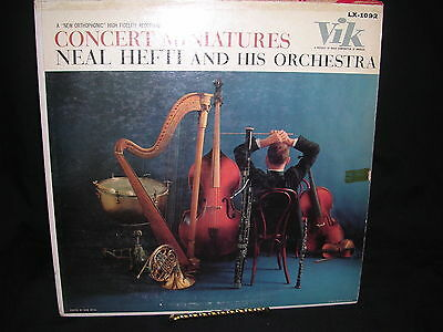 - Concert Miniatures Neal Hefti And His Orchestra VG+/G