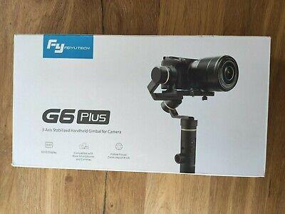 FeiyuTech G6 Plus Stabilisateur Noir à 3-Axis pour Sony RX100, a6300, Canon...