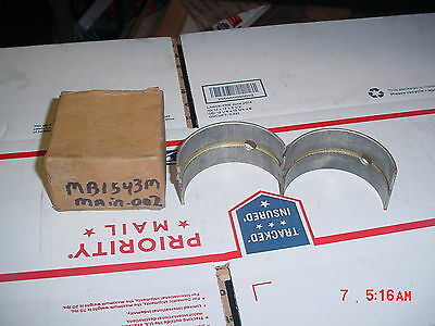 Farmall Engine Main Bearing 400 450 M Mv W6 T6 I6 Os6 6 Series Super M M-ta Mv