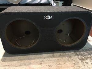 SBL dual 12 inch subwoofer box