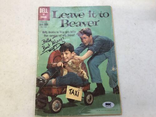 RARE JUN-AUG 1960 LEAVE IT TO BEAVER TONY DOW AUTOGRAPHED GOLDEN COMIC BOOK SGC