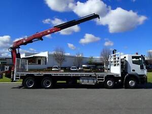 Iveco Stralis 8 X 4 Crane truck Welshpool Canning Area Preview