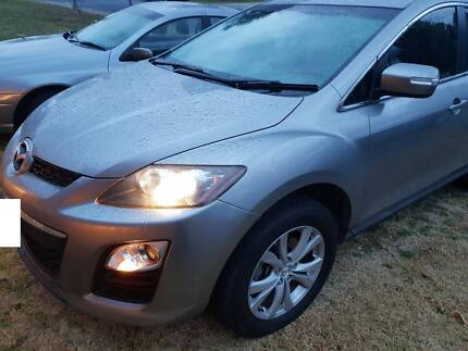 2009 Mazda CX-7 Turbo Diesel 6 speed manual 4X4 SUV Canberra City North Canberra Preview