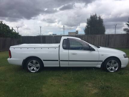 2006 BF FALCON UTE WITH HARD TOP COVER