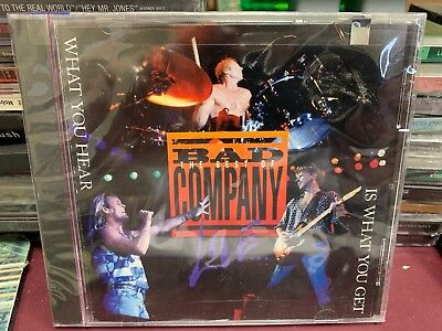 Bad Company The Best Of Live What You Hear Is What You Get CD Atco 92307