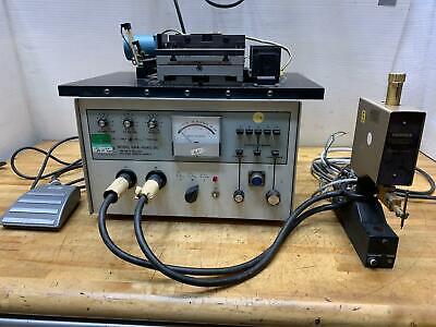 Hughes Vta-61 Spot Welder Hrw-100b 100ac-dc Welding Power Supply
