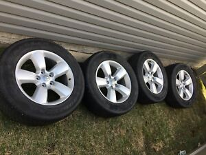 """20"""" inch Dodge Ram 1500 rims/wheels and 275/60r20 tires"""