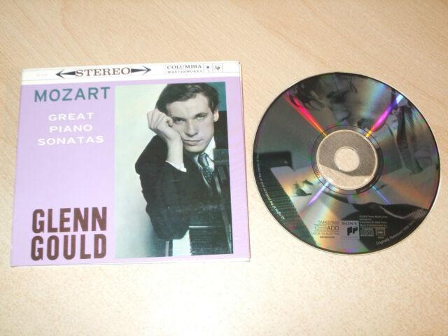 Glenn Gould - Mozart - Great Piano Sonatas (CD) Gatefold - Mint - Fast Postage