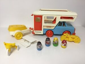 Weebles Camp-About vintage Hasbro toy from 1974