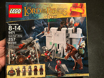 BRAND New LEGO The Lord Of The Rings 9471 Uruk-hai Army Factory Sealed MISB!!