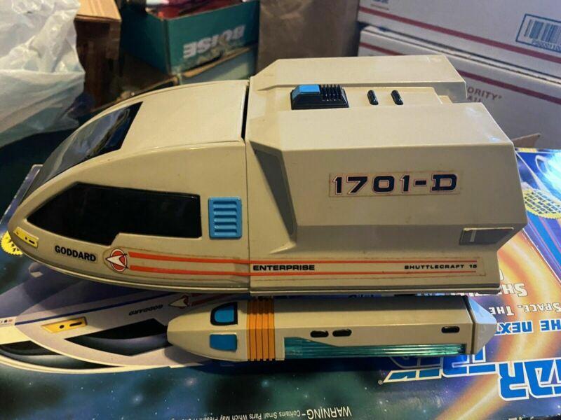 Vintage 1992 Playmates Star Trek Shuttlecraft Goddard Toy in Original Box