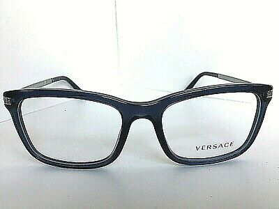 New Versace Mod. 1032 1115 Blue 53mm Men's Eyeglasses Italy