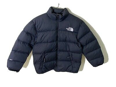 The North Face Mens Medium Petite M/P 800 Black Goose Down Puffer Jacket Coat