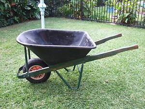 WHEELBARROW WOODEN HANDLES & SPARE WHEEL Hurstville Hurstville Area Preview