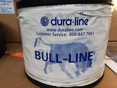 Dura Line Wp18 3000 Ft. Roll Bull-line Mule Tape 1800 Lb. Break Made In Usa