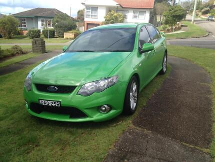 FORD XR6 2010 Dash Green New Lambton Newcastle Area Preview