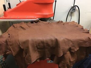 Leather Hides - Many styles colours and sizes available