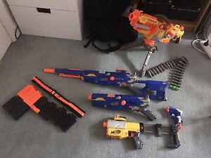 SELLING nerf gun collection Carlton Melbourne City Preview