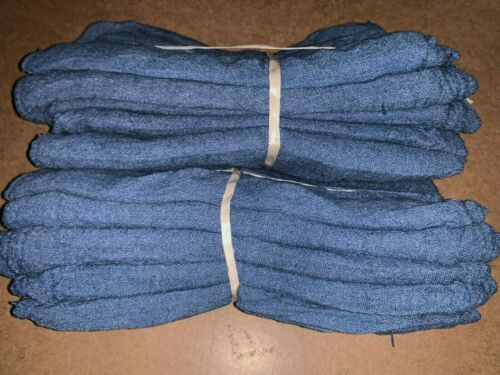 "1000 new great mechanics shop rags towels blue 13""X14"""