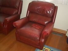 Moran Leather Armchair Ringwood North Maroondah Area Preview