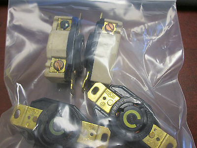 Hubbell Outlet 30a 125v Lot Of 4 Used