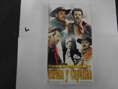 VIRUTA Y CAPULINA VHS NEW EL CAMINO DE LOS ESPANTOS  735978105722
