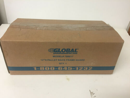 "Global Industrial 798617 12"" H Pallet Rack Frame Guard"