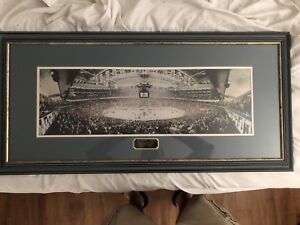 Framed NHL - Toronto Maple Leafs vs Montreal Canadiens