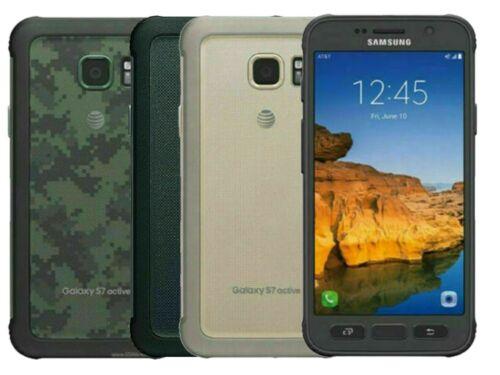 Samsung Galaxy S7 Active G891A GSM Factory Unlocked 32GB Smartphone - Image Burn