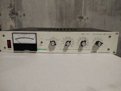 Pacific Precision Instruments High Voltage Power Supply Model 204-10l