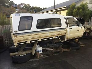 Wrecking 1987 hilux 4x4 Hobart CBD Hobart City Preview