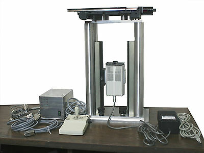 Open Microscope Lepludl Bioprecision 99s017 Motorized Stage Mac5000 Controller