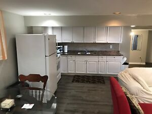 All inclusive 2 bedroom basement apartment