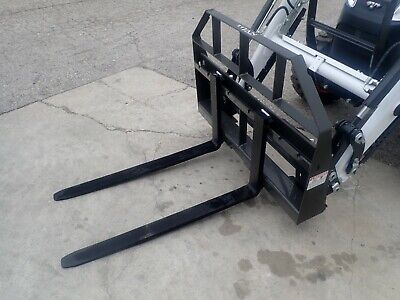 New Titan 42 Pallet Forks Ssl Quick Attach For Many Tractors Skid Steers