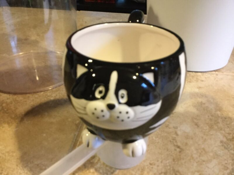 Chubby Cat 3D Ceramic Mug