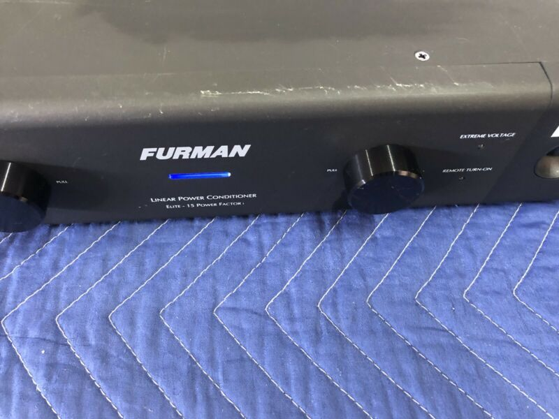 Furman Elite 15-PFI Power Conditioner & Surge Protector with Rack Ears